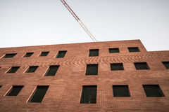 Verlaten bureausbouw in Sant Cugat del Valles Royalty-vrije Stock Fotografie