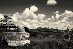 Verlaten bus - Australië Stock Fotografie