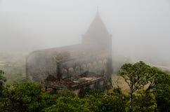 Verlaten christelijke kerk Royalty-vrije Stock Foto's
