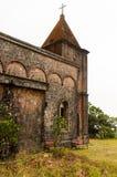 Verlaten christelijke kerk Stock Foto
