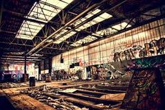 Verlaten Complex Stock Fotografie