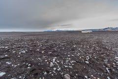 Verlaten DC3 Zuidelijk IJsland Stock Afbeeldingen