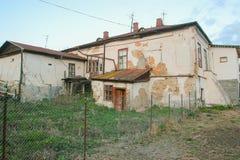 Verlaten de lentehuis dichtbij Tchernobyl Stock Fotografie