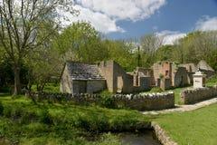 Verlaten dorp van Tyneham Stock Afbeelding