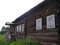 Verlaten dorpen royalty-vrije stock fotografie