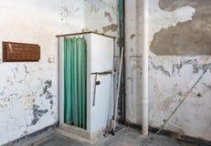 Verlaten douche binnen Krankzinnig Asiel trans-Allegheny stock foto's