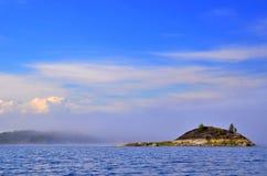 Verlaten eiland Royalty-vrije Stock Afbeeldingen
