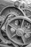 Verlaten Ekstermijn, verlaten loodmijn in Piekdistrict het UK royalty-vrije stock afbeelding