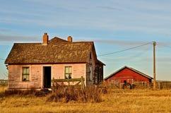 Verlaten en Vergeten boerderij Royalty-vrije Stock Fotografie
