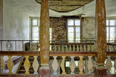 Verlaten en vergeten manor Royalty-vrije Stock Afbeelding