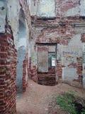 Verlaten en vernietigd door tijd, Parkensemble en landgoed royalty-vrije stock fotografie