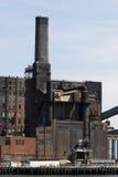 Verlaten fabriek stock afbeeldingen