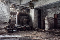 Verlaten fabriek stock fotografie