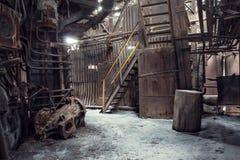 Verlaten fabriek Royalty-vrije Stock Afbeelding