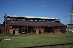 Verlaten fabriek Royalty-vrije Stock Foto