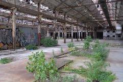 Verlaten Fabriek in Cleveland, OH stock afbeeldingen