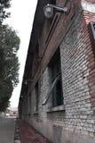 Verlaten fabrieken royalty-vrije stock afbeelding
