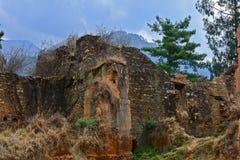 Verlaten Fort Stock Fotografie