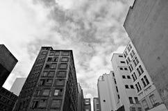 Verlaten gebouwen Royalty-vrije Stock Afbeeldingen