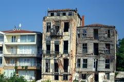 Verlaten gebouwen royalty-vrije stock foto's