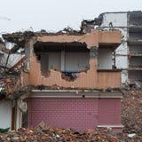 Verlaten gebouwen Stock Afbeelding