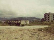 Verlaten gebouwen Stock Foto's