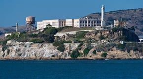 Verlaten gebouwen van gevangenis Stock Foto
