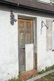 Verlaten gesloopt verlaten huis stock foto