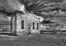 Verlaten Gevangenis in Clairemont TX Stock Afbeelding