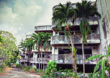 Verlaten Hotel Stock Afbeeldingen