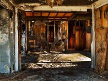 Verlaten huis bij het Overzees Salton Stock Afbeelding