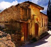 Verlaten huis in de Krim Royalty-vrije Stock Foto