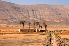 Verlaten huis in Fuerteventura Stock Foto