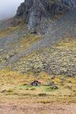 Verlaten huis in IJsland Stock Afbeelding