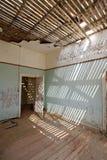 Verlaten huis in Namibië Stock Foto's