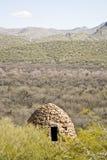 Verlaten Industriële Ovens in de Woestijn van Arizona Royalty-vrije Stock Foto