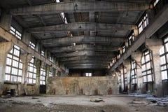 Verlaten Industrieel binnenland Royalty-vrije Stock Afbeelding