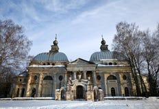 Verlaten Kerk Stock Foto