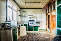 Verlaten keuken royalty-vrije stock foto