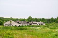 Verlaten landbouwbedrijf Royalty-vrije Stock Fotografie
