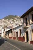 Verlaten Mexicaanse straat Royalty-vrije Stock Fotografie