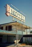 Verlaten Motel, Salton Overzees, CA stock afbeeldingen