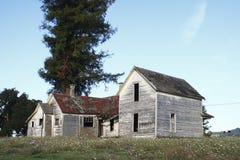Verlaten oud huis Royalty-vrije Stock Afbeelding
