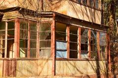 Verlaten Oud Huis stock afbeelding