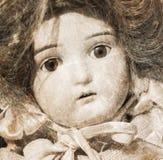 Verlaten pop met glasogen Royalty-vrije Stock Foto
