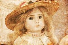 Verlaten pop met glasogen Stock Foto