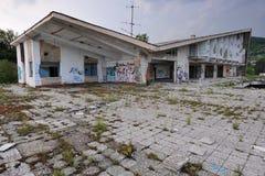 Verlaten recreatiecentrum Royalty-vrije Stock Foto's