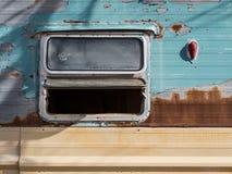 Verlaten recreatief voertuig stock foto's