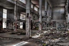 Verlaten ruïne Royalty-vrije Stock Foto's
