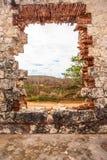 Verlaten Ruïnes Puerto Rico stock foto's